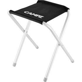 CAMPZ Aluminium Folding Stool black